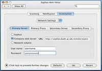 Sophos Antivirus pour Mac édition familiale