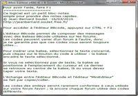 Télécharger Mini-Editeur Windows
