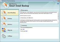 Smart E-mail Backup