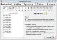 Télécharger Assistant Mots Croisés Windows
