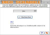 Télécharger Dico scrabble Windows