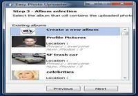 Easy Photo Uploader for Facebook Windows