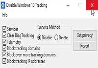 Télécharger Disable Windows 10 Tracking Windows