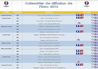 Télécharger Calendrier de diffusion de l'Euro 2016 Windows