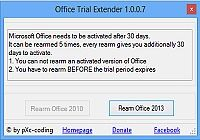 Office Trial Extender