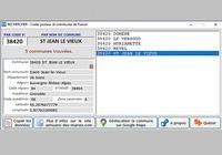 Codes Postaux et Communes Windows