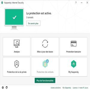 securite antivirus p kaspersky internet security