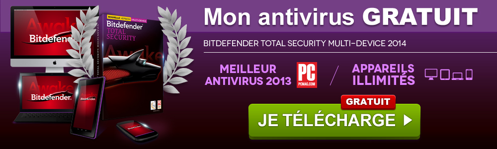 Bitdefender Total Security Multi-Device 2014 Gratuit