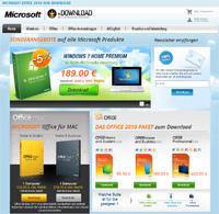 Logiciels Microsoft en téléchargement